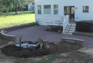 Dunkirk Retaining Wall Patio Pavers