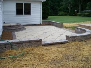 Owings MD landscaping Patios